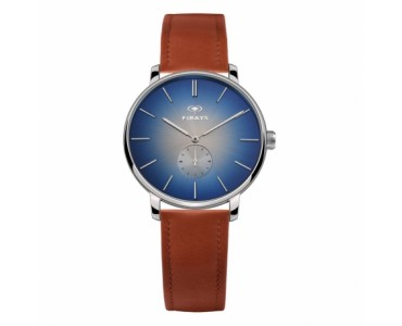 FIRAYS Men's Watches   Sapphire Glass   Surgical Grade Stainless Steel   Top Grain Calf Leather Strap   Japanese Quartz Movement   42mm