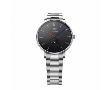 FIRAYS Men's Watches   Sapphire Glass   Surgical Grade Stainless Steel   Denim Strap   Japanese Quartz Movement   42mm