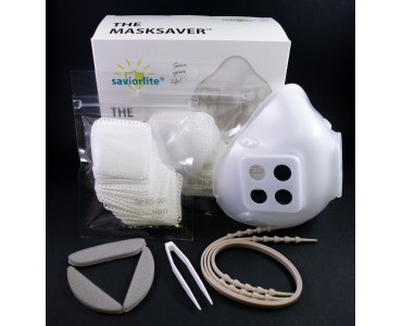 The Masksaver harmless, biodegradable, recyclable and reusable mask (1 Box included 60 filters) X 10 boxes (FREE SHIPPING)